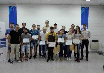Entrega de certificados en ITEC Rafaela