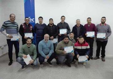 La CIMR y el ITEC Rafaela hicieron entrega de los certificados del Curso de Oficio: Automatización
