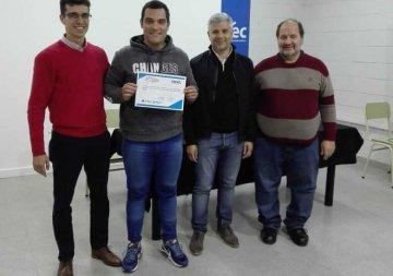 Se entregaron certificados de Cursos de Oficio en ITEC Rafaela.